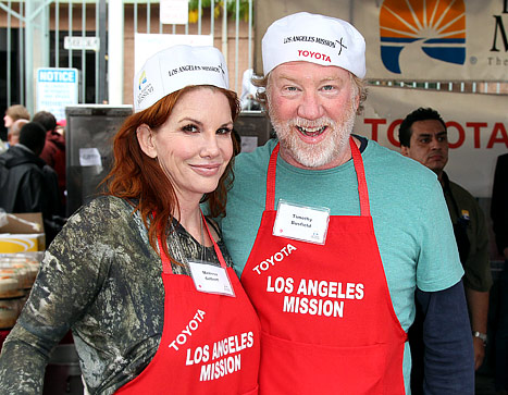 "Melissa Gilbert Engaged: She and Fiance Timothy Busfield ""Looked Really in Love"" on PDA Packed Date"