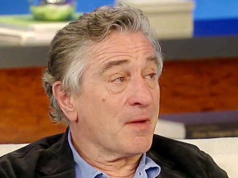 Robert De Niro Tears Up on Katie Discussing Bipolar Disorder in Silver Linings Playbook: Picture
