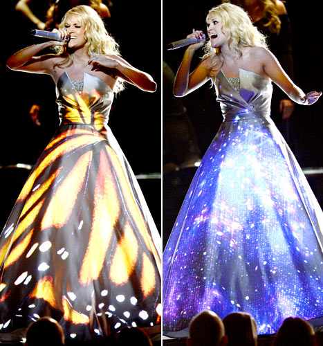 Carrie Underwood Wears LED Dress for Grammys 2013 Performance: All the Details!