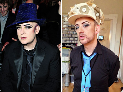 Boy George Reveals Dramatic Weight Loss: Picture