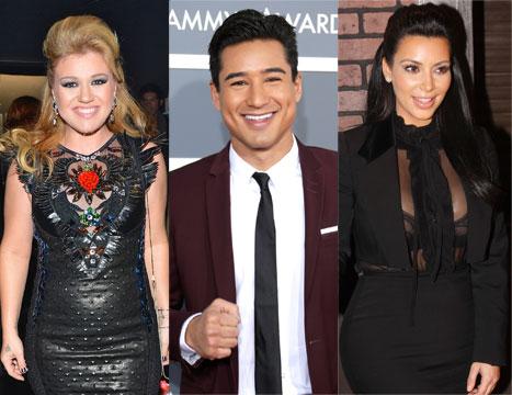 Kelly Clarkson Slams Clive Davis' Memoir, Kim Kardashian Shows Off Baby Bump in First Pregnant Magazine Shoot: Top 5 Stories of the Day
