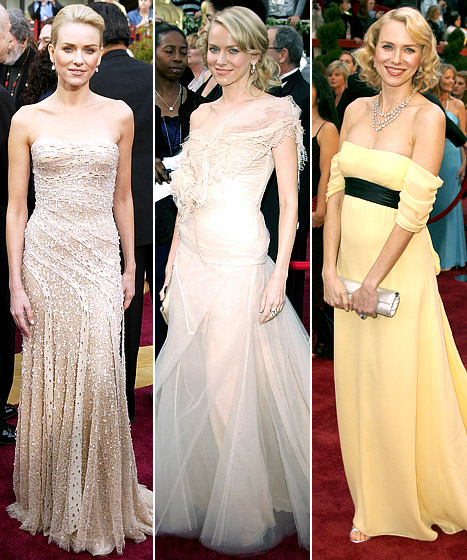 Naomi Watts' Oscars Looks: Which Dress Was Best?