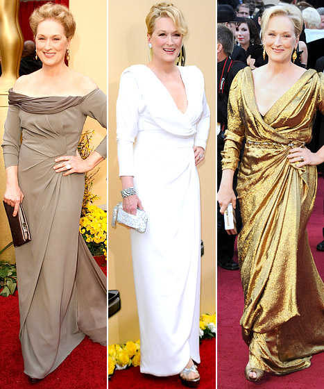 Meryl Streep: What's Her Best Oscars Dress Ever?