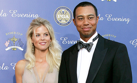 Tiger Woods, Elin Nordegren Reunite at Event, Photographed for First Time in Years: Pictures