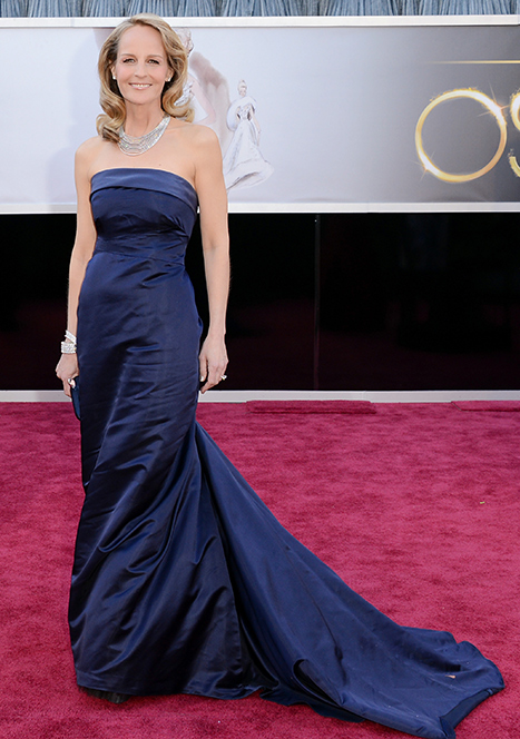 Helen Hunt Wears H&M Dress for Oscars Red Carpet