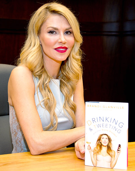 "Brandi Glanville Hopes to Turn Tell-All Book Into a Lifetime ""Unromantic Comedy"""