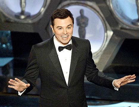 "Seth MacFarlane Says There's ""No Way"" He'll Host the Oscars Again"