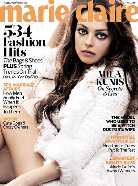 "Mila Kunis: I Censor Myself ""More"" Now That I'm Dating Ashton Kutcher"