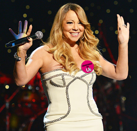 Mariah Carey Suffers Nip Slip at So So Def Anniversary Party: Picture