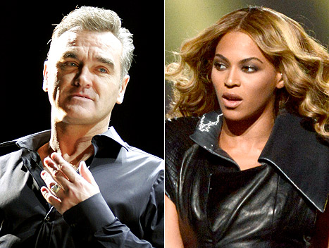 Beyonce Slammed by Morrissey for Animal-Skin Handbags