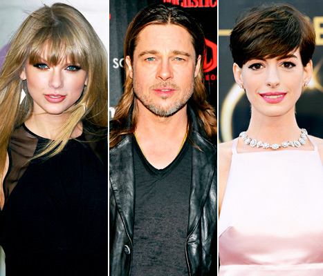 Taylor Swift Made More Money in 2012 Than Brad Pitt, Anne Hathaway Combined!