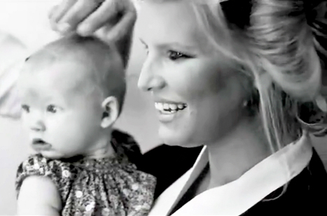 "Jessica Simpson Parades Daughter Maxwell Backstage at Fashion Star: ""Isn't She Cute?"""