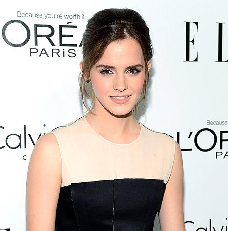 Emma Watson Rumors: Actress Denies 50 Shades of Grey Casting
