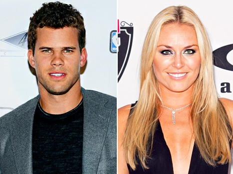 Lindsey Vonn Was Talking With Kim Kardashian's Ex Kris Humphries Before She Started Dating Tiger Woods