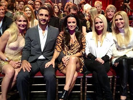 Kyle Richards, Brandi Glanville Cheer on Lisa Vanderpump on Dancing with the Stars