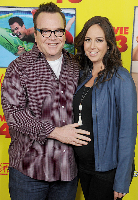 Tom Arnold, Wife Ashley Groussman Welcome Baby Boy Jax Copeland!