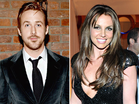 """Ryan Gosling: Britney Spears and I Played """"Spin the Bottle"""" Together"""