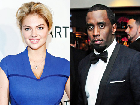 "Sean ""Diddy"" Combs, Kate Upton Respond to Dating Rumors"