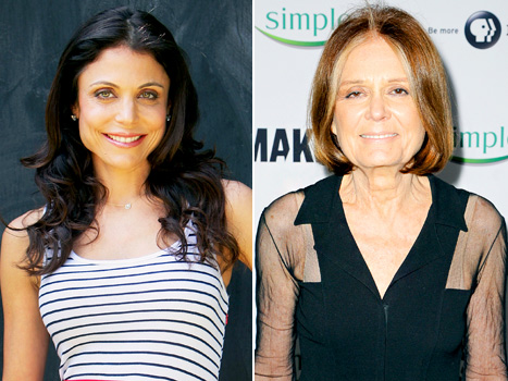 """Bethenny Frankel Calls Divorce """"Excruciating,"""" Gloria Steinem Speaks Out Against Criticism of Kim Kardashian's Body: Today's Top Stories"""