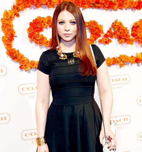 Michelle Trachtenberg Rocks New Red Hair: Picture