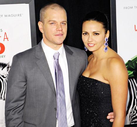 Matt Damon's Vow Renewal: See His Ermenegildo Zegna Suit!