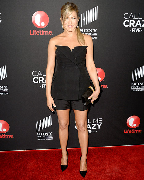 Jennifer Aniston Reveals Cupping Marks, Says No Wedding Dress Picked Yet