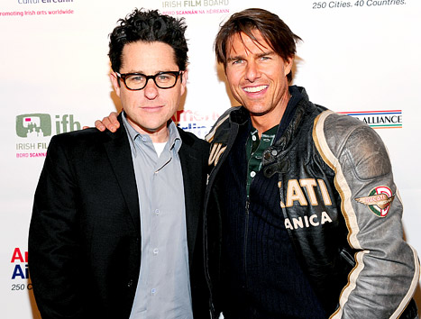 "Tom Cruise Praised by JJ Abrams: He's ""Generous,"" ""Passionate"" and ""Encouraging"""