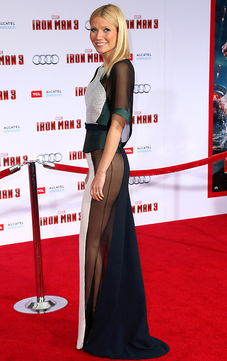 "Gwyneth Paltrow Feels ""Humiliated"" After Ditching Underwear at Iron Man 3 Premiere"