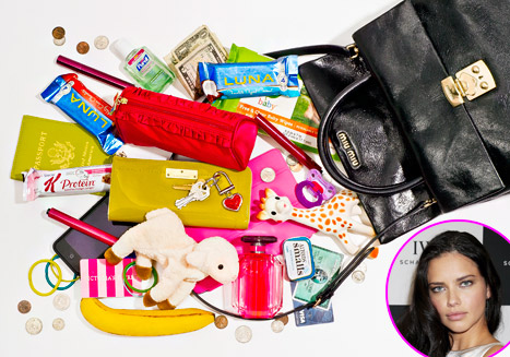 Adriana Lima: What's In My Bag?