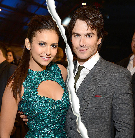 Nina Dobrev, Ian Somerhalder Break Up