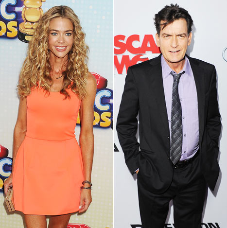 """Denise Richards on Caring for Charlie Sheen, Brooke Mueller's Kids: """"I Want to Be There for Them"""""""