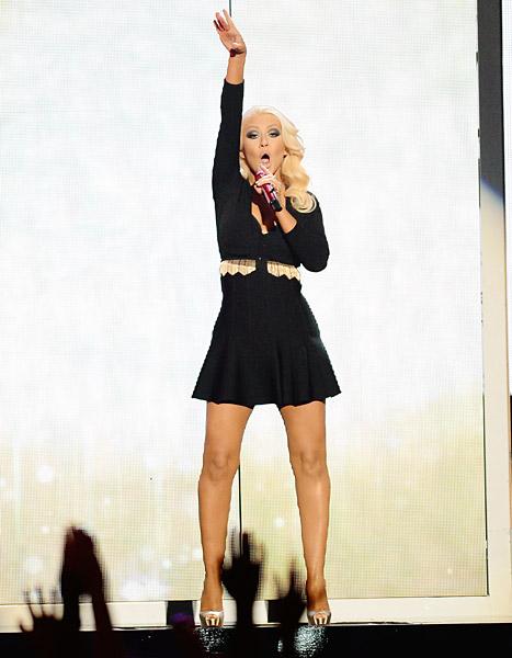 Christina Aguilera Looks Skinnier Than Ever at Billboard Music Awards