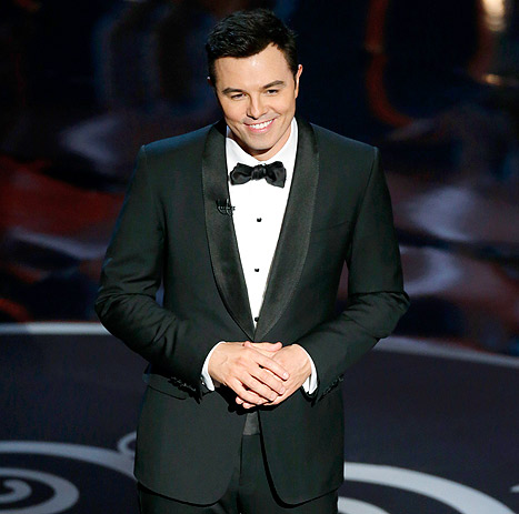 "Seth MacFarlane Won't Host the Oscars in 2014: ""Traumatized Critics Exhale"""