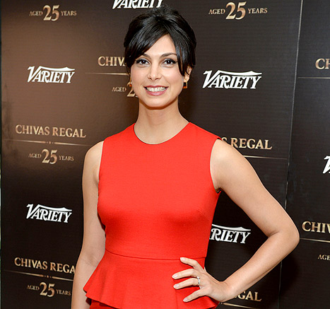 "Morena Baccarin Debuts Baby Bump, Says Costar Claire Danes Is a ""Gift"""