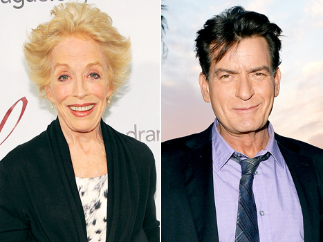 "Charlie Sheen's Ex-Costar Holland Taylor Blames His Past Issues on ""Madhouse"" Childhood"