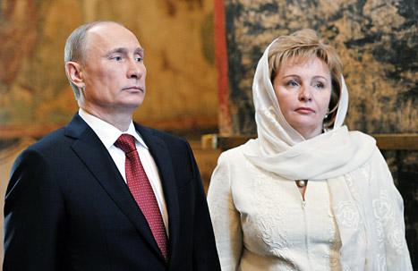 Vladimir Putin Divorcing Wife Lyudmila After 30 Years