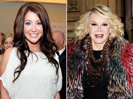 "Bristol Palin, Joan Rivers Trading Lives in ""Celebrity Wife Swap"""