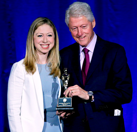 Bill Clinton Named Father of the Year, Gets Text From Hillary Clinton