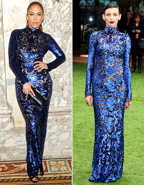 Who Wore It Best: Jennifer Lopez vs. Liberty Ross?