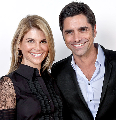 """John Stamos Says Full House's Lori Loughlin Is """"The One That Got Away"""""""
