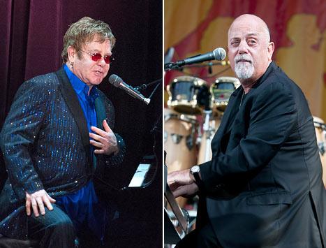 "Billy Joel, Elton John End Feud at Songwriters Hall of Fame: ""We're OK"""