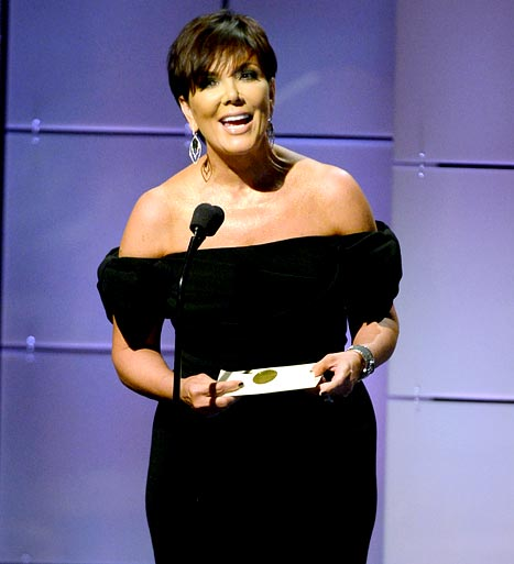 """Kris Jenner Hits Daytime Emmys After Kim Kardashian Gives Birth, Says Baby Is """"Beautiful"""""""