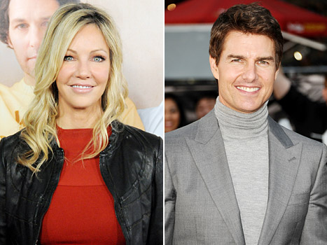 Heather Locklear's Date With Tom Cruise: He Did the Risky Business Dance!