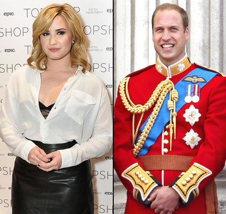 Demi Lovato's Dad Dies, Prince William Serves as Usher In Friend's Wedding: Top 5 Stories