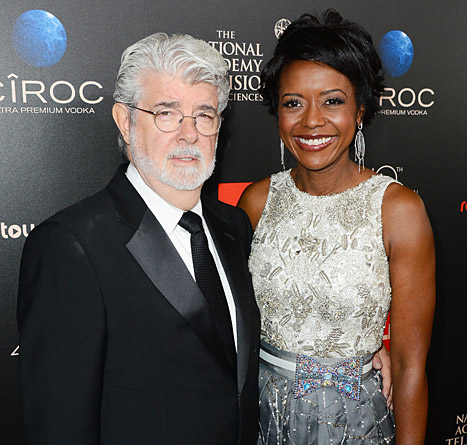George Lucas Marries Mellody Hobson