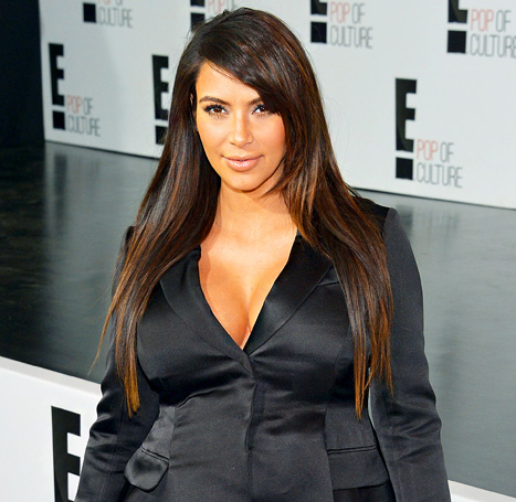 "Kim Kardashian ""Loves"" Breast-Feeding, Is a ""Natural"" Mother"