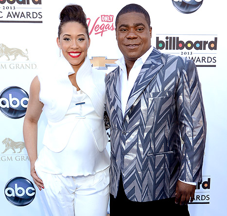 Tracy Morgan's Fiancee Megan Wollover Gives Birth to Baby Girl Maven Sonae!