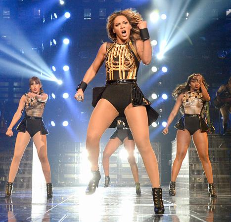 Beyonce Concert in L.A. Draws Pregnant Heather Morris, Kourtney Kardashian, Minka Kelly and Others