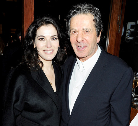 Nigella Lawson's Husband Charles Saatchi Files For Divorce