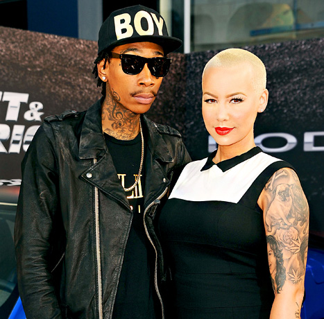 Amber Rose and Wiz Khalifa Are Married, Planning a Fall Wedding